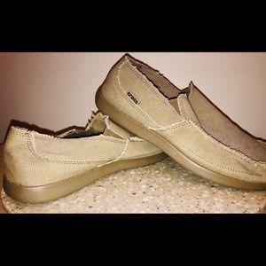 🐊 Brand New! Canvas Crocs 🐊